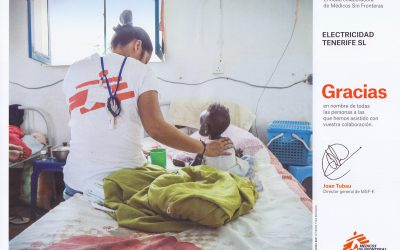 Colaboración con Médicos Sin Fronteras