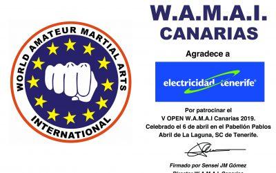 Colaboración con W.A.M.A.I. Canarias